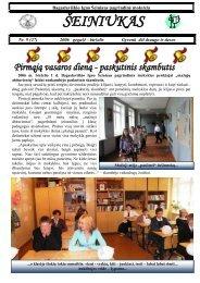 2006-05, Nr.27 - Bagaslaviškio Igno Šeiniaus pagrindinė mokykla