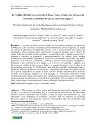 Herbicidas alternativos no controle de Bidens pilosa e Euphorbia ...