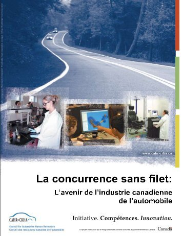 Télécharger cette publication - Automotive Industries Association of ...