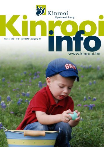 kinrooi-info • nr 2 • april 2012 • jaargang 26