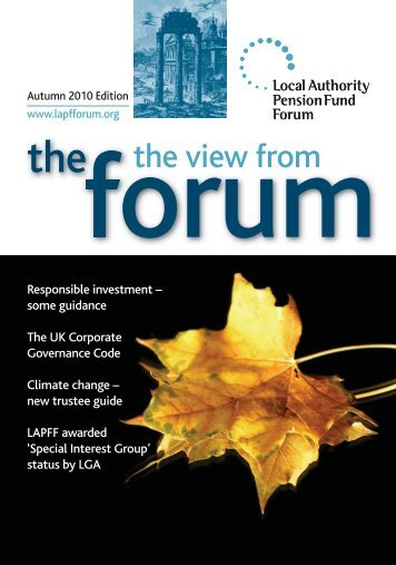 Autumn Newsletter 2010 - LAPFF