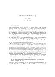 Introduction to Philosophy - Cantab.net