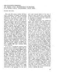 due statuette femminili del museq civico archeologico di bologna e ...