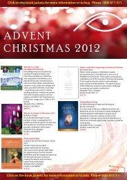 ADVENT CHRISTMAS 2012 - MediaCom