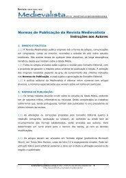 Normas para Autores - Universidade Nova de Lisboa