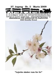 37. årgang · Nr. 3 · Marts 2009 - lundens.net