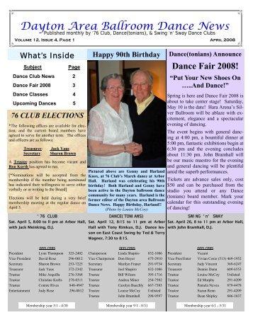 12 04April2008Newsletter - Ballroom Dance Dayton