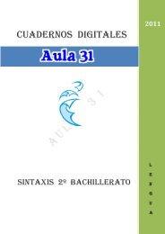 Sintaxis 2º Bachillerato