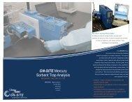 On-Site Mercury Sorbent Trap Analysis Brochure - Ohio Lumex Co.