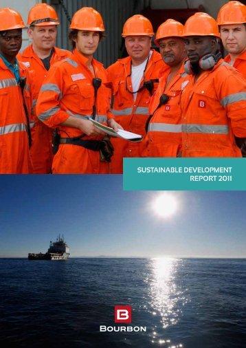 SuStainable Development RepoRt 2011 - Bourbon