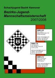 BMM U12 U16 - Schachbezirk Hannover