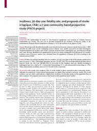 Incidence, 30-day case-fatality rate, and prognosis of stroke in ...