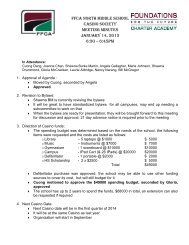 Casino Society meeting Minutes January 14 2013 - FFCA Campuses