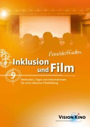 Praxisleitfaden Inklusion und Film - mebis - Bayern