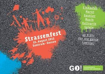 Einkaufen Markt Gaukler Musik Kulinarik Spiele ... - Braunwalder AG