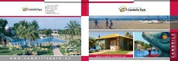 www . cambrilspark . es C A M B R I L S - Camperado