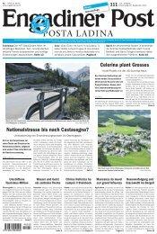 Engadiner Post Nr. 111 vom 20. September 2012