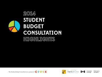 2014-Student-Budget-Consultation-Highlights1