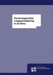 Persoonsgerichte vraagverheldering in de Wmo.pdf - StudieArena