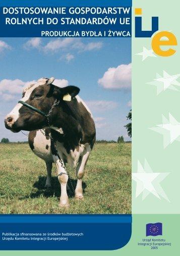 Dostosowanie gospodarstw rolnych do standardów UE - produkcja ...