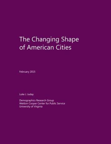 ChangingShape-AmericanCities_UVA-CooperCenter_February2015