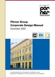 Pörner Group Corporate Design Manual