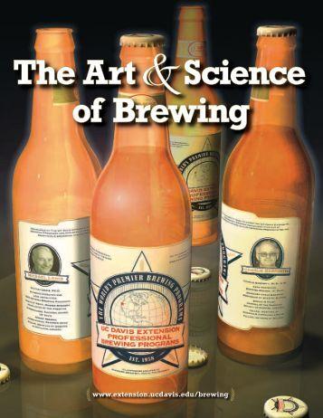 Science Of Brewing - UC Davis Extension - University of California ...