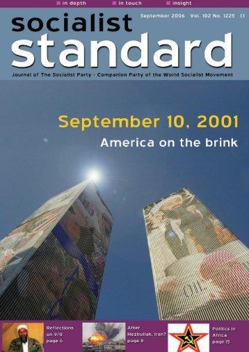 September 06.qxd - World Socialist Movement