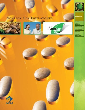 Novasoy® Soy Isoflavones - ADM