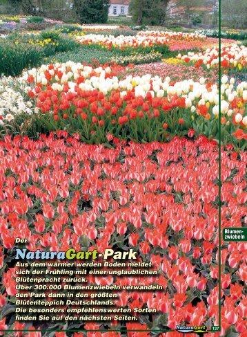 Der NaturaGart-Park Aus dem wärmer werden Boden meldet sich ...