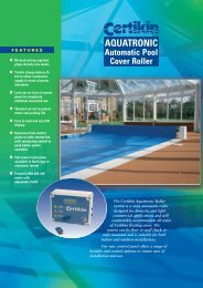 Aquatronic Automatic Roller System Brochure - Aspects Pools