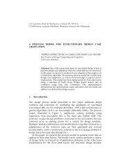 A PROCESS MODEL FOR EVOLUTIONARY DESIGN CASE ...