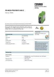 PSI-MOS-PROFIB/FO 660 E - pidindustrial.com.br