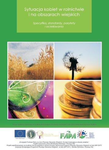 Sytuacja kobiet w rolnictwie i na obszarach wiejskich - KSOW