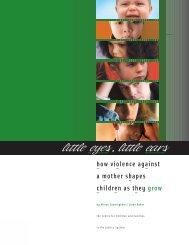 Little eyes, little ears - Agence de la sante publique du Canada