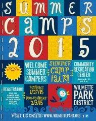 Camps - Wilmette Park District