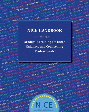 NICE HANDBOOK – Academic training of Career ... - Nice-network.eu