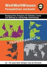"""""""WeltWeitWissen 2014"""" des Dachverbandes ... - DEAB"""