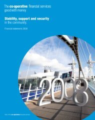 Financial Statements 2008 (PDF - 2.8MB) - The Co-operative ...