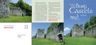 Flyer - Förderverein Burg Castels in Putz