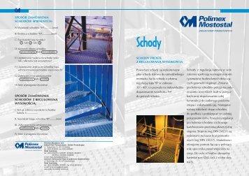 schody proste z regulowan¥ wysokościa sposób ... - FH Lider