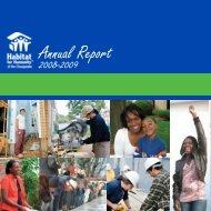 Annual Report - Habitat for Humanity of the Chesapeake