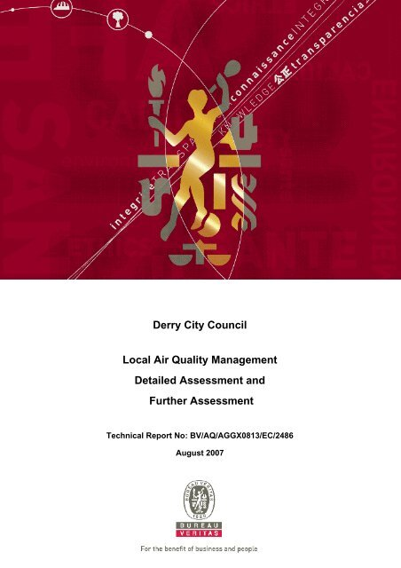 Derry City Council Local Air Quality Management Detailed ...