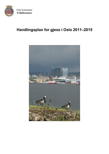 Handlingsplan for gjess i Oslo 2011–2015