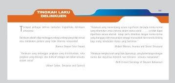 TINGKAH LAKU DELINKUEN - IPPBM