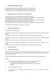 1. NOMBRE DEL MEDICAMENTO Ciprofloxacino STADA250mg ...