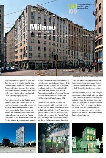 Milano - Schweizerischer Werkbund