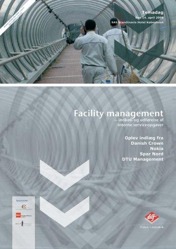 Facility Management - Indkøb og udførelse af interne serviceopgaver