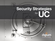UC Security Strategies - VoIP Supply