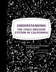 Understanding the Child Welfare System in California: A Primer
